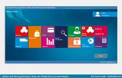 Aplikasi Stok Barang Distributor Madu dan Herbal Berbasis Vb.Net